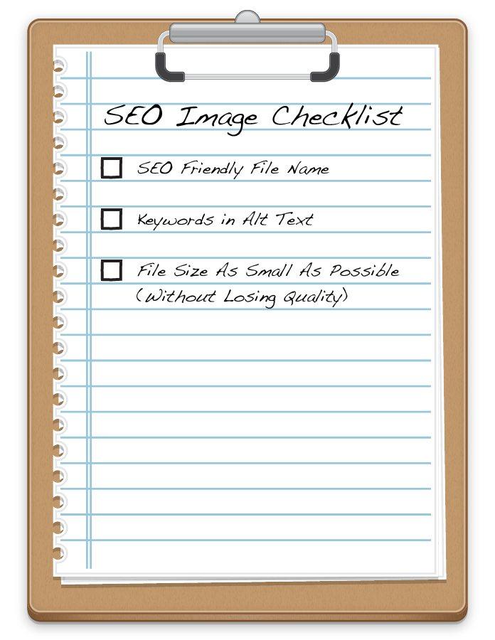 seo image checklist