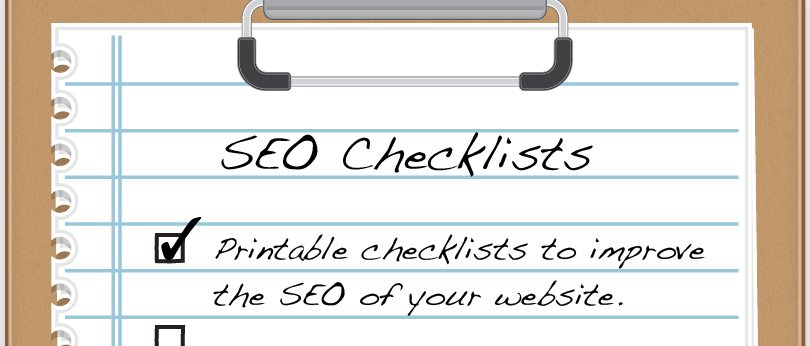 Printable SEO Checklists