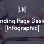 Better landing page design infographic