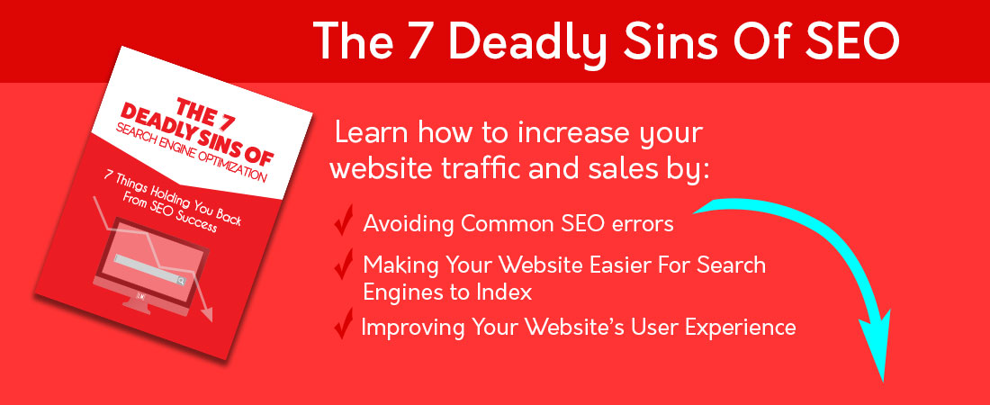 The 7 Deadly Sins Of Search Engine Optimization (SEO): Free E-Book Download
