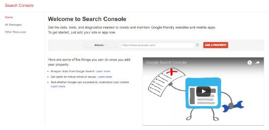 How to add Google Search Console to your website