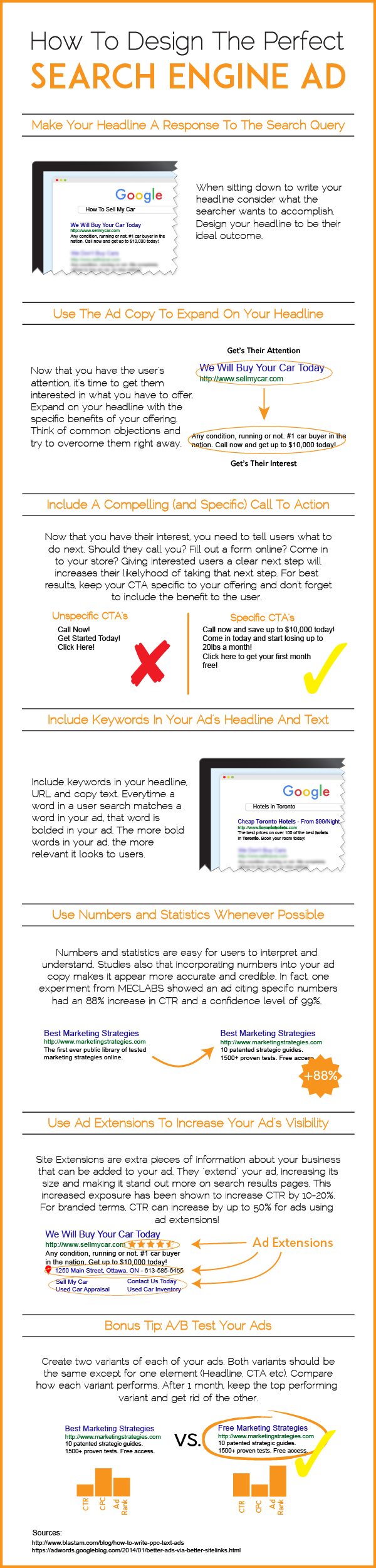How you can write the best search engine ads