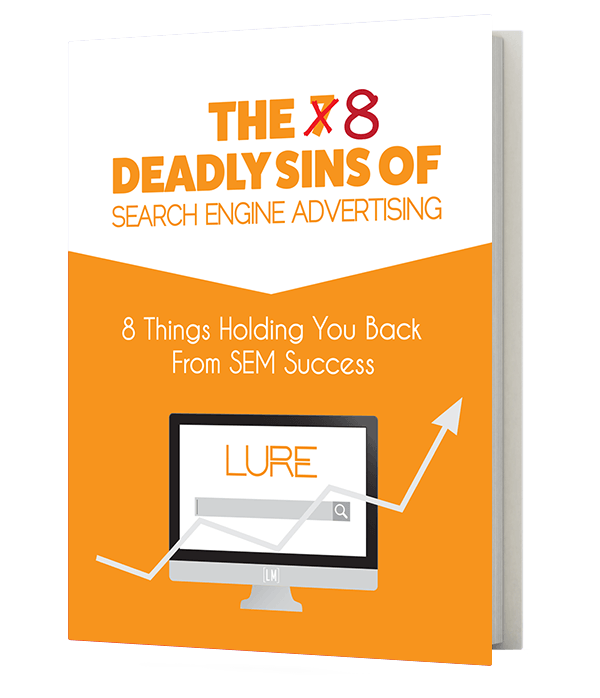 The 8 Deadly Sins of Search Engine Advertising free ebook cover