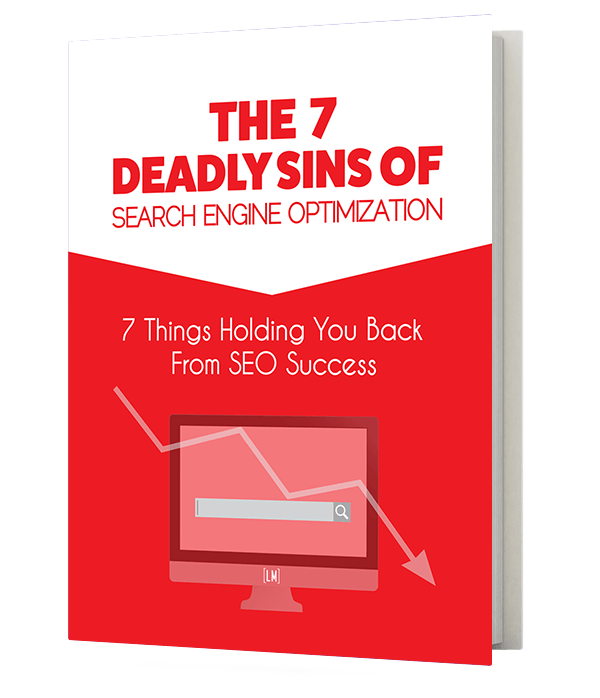 The 7 Deadly Sins of SEO free ebook cover